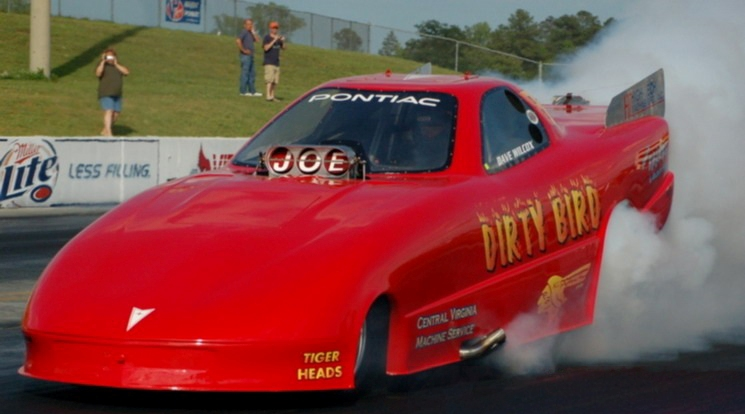 Dave Wilcox Dirty Bird Pontiac FC burnout
