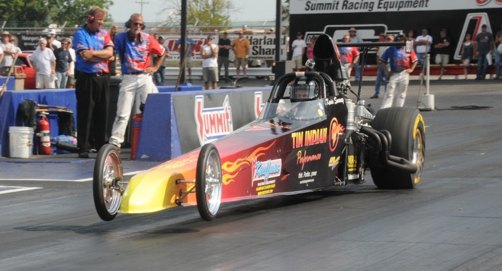 Kevin Swaney Tin Indian Performance Pontiac Powered Dragster